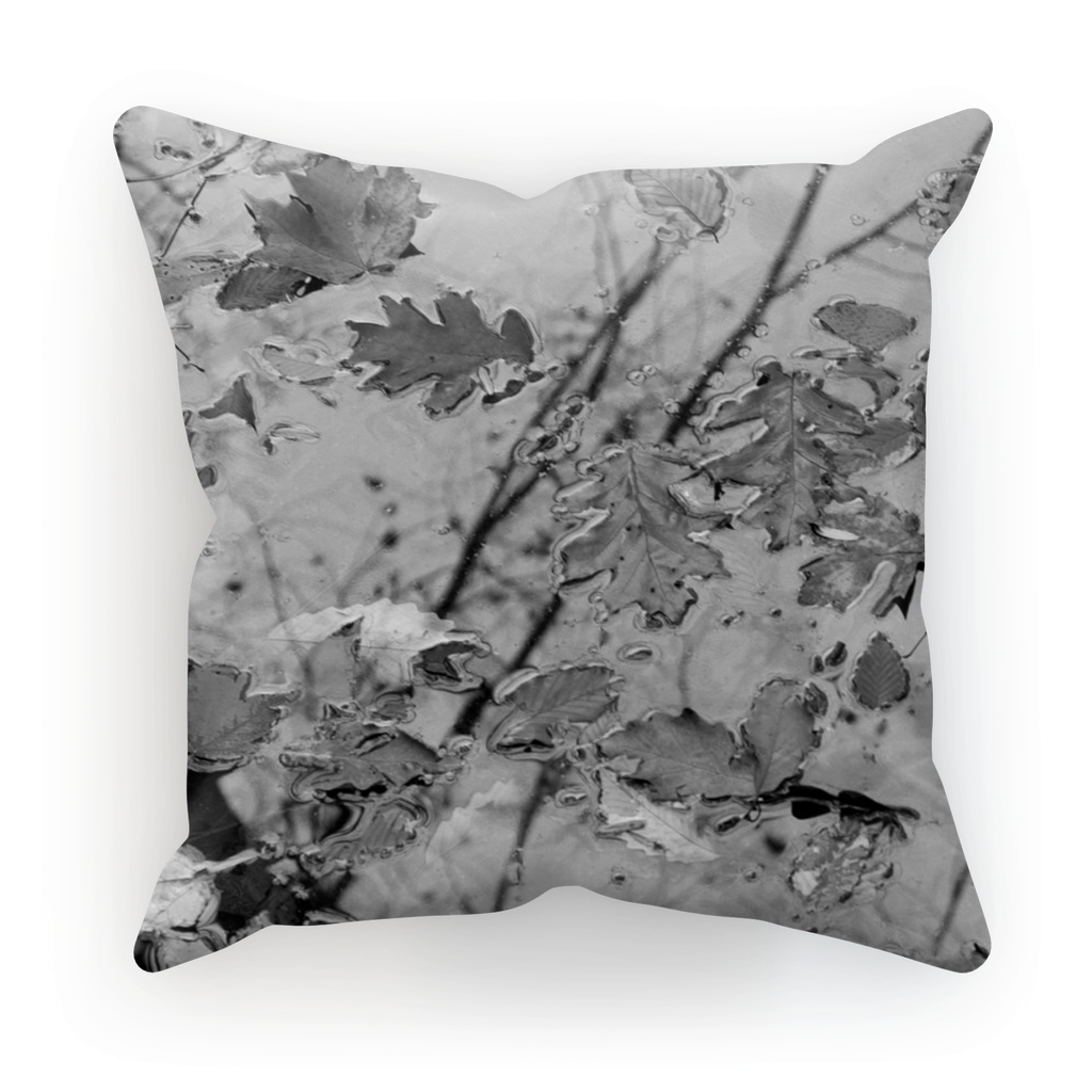 Adrian Rodriguez Abstract Nature Cushion