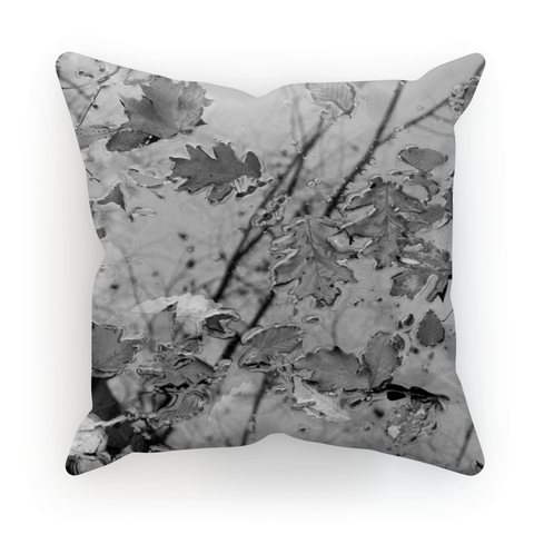 Adrian Rodriguez Abstract Nature Cushion - louisacatharinedesign
