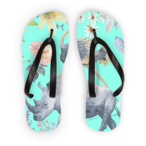 'Best Friends Make All Things Possible' Flip Flops by Louisa Catharine