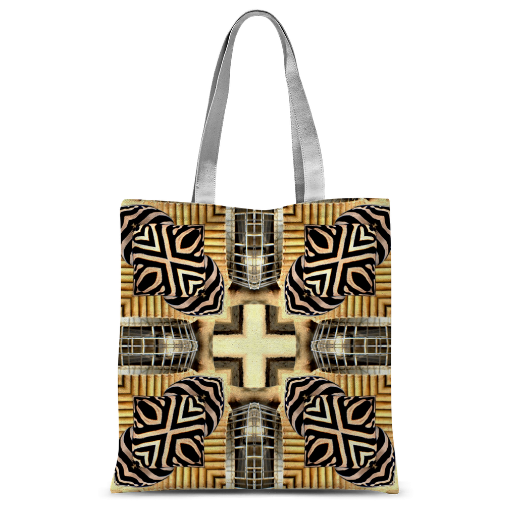 'Warrior Shields' Artwork by Louisa Catharine Tote Bag