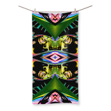 Color Chaos Beach Towel - louisacatharinedesign