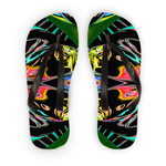 Color Chaos Flip Flops - louisacatharinedesign