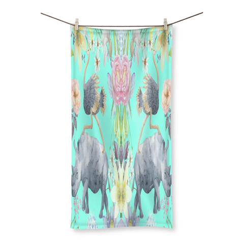 Best Friends Possible Beach Towel - louisacatharinedesign