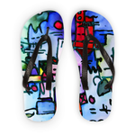 Michel Liénard Limited Collection Art III Flip Flops - louisacatharinedesign