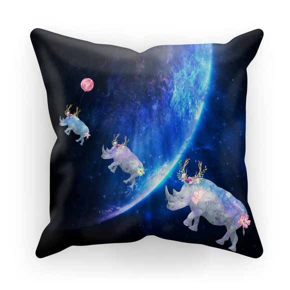 'Reaching For The Stars' Cushion Cover by Louisa Catharine