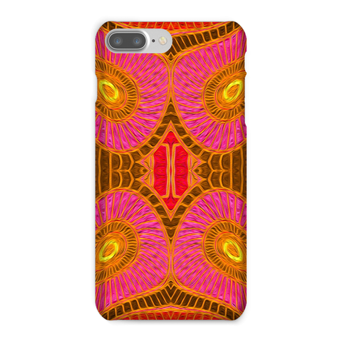 'Solar Orange' Phone Case - louisacatharinedesign
