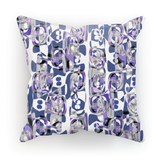 Seventies Inspiration by Louisa Catharine Cushion