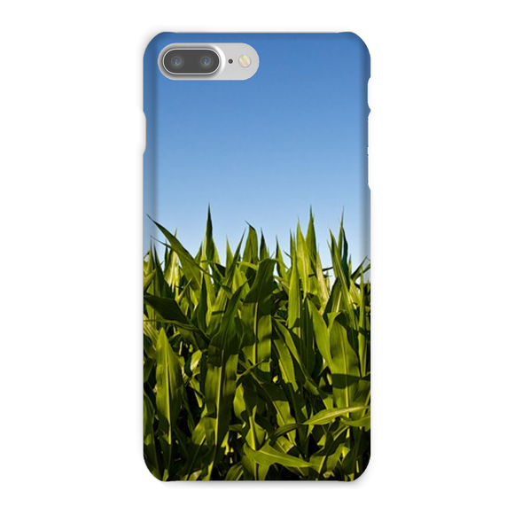 'Cornfield' Visual Art by Adrian Rodriguez Phone Case