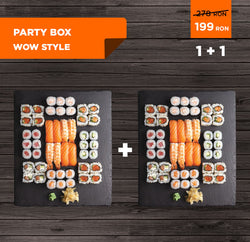 1+ 1 Party Box XL - WOW Style (96 buc)