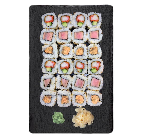 Sushi Box Maki Roll Cooked 24 buc