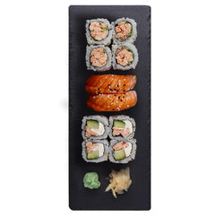 Platou Sushi Box - Somon Cooked - 10 buc