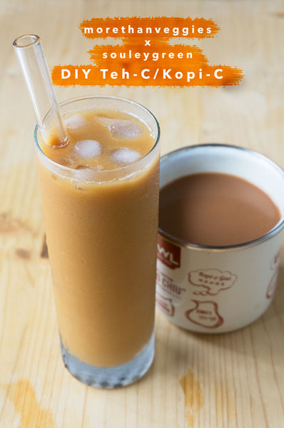 DAIRY-FREE TEH-C/KOPI-C (With Nature's Charm Coconut Condensed Milk)