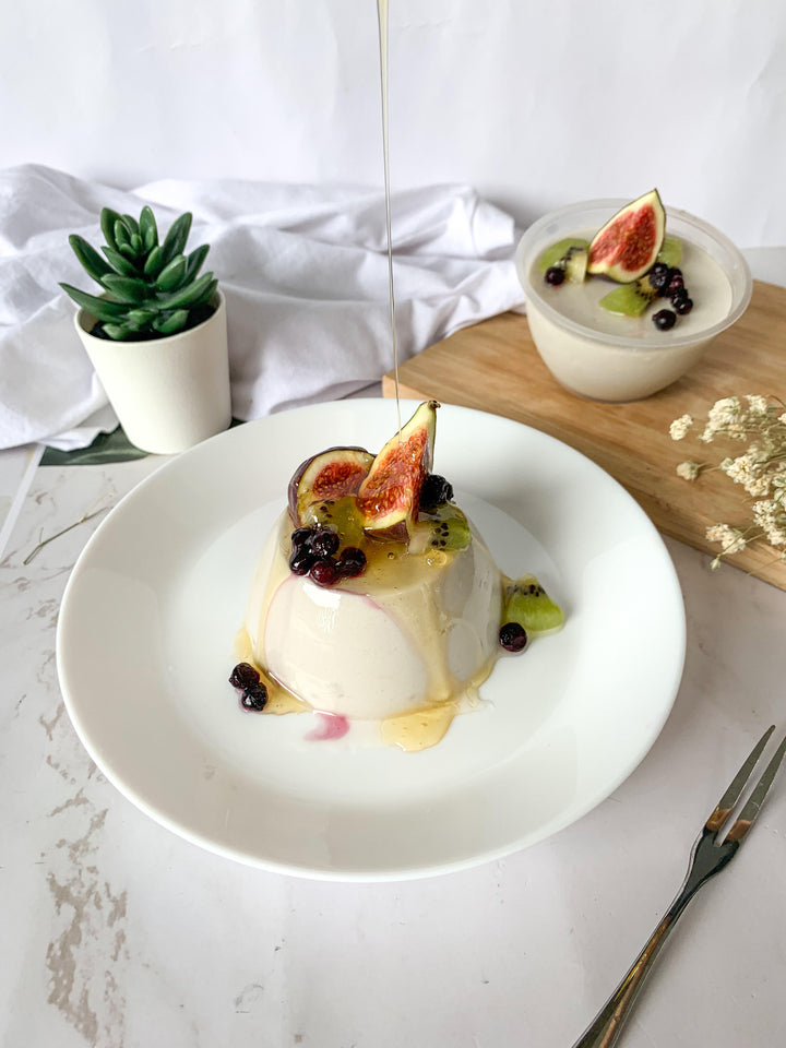 SUMMER FRUITS PANNA COTTA