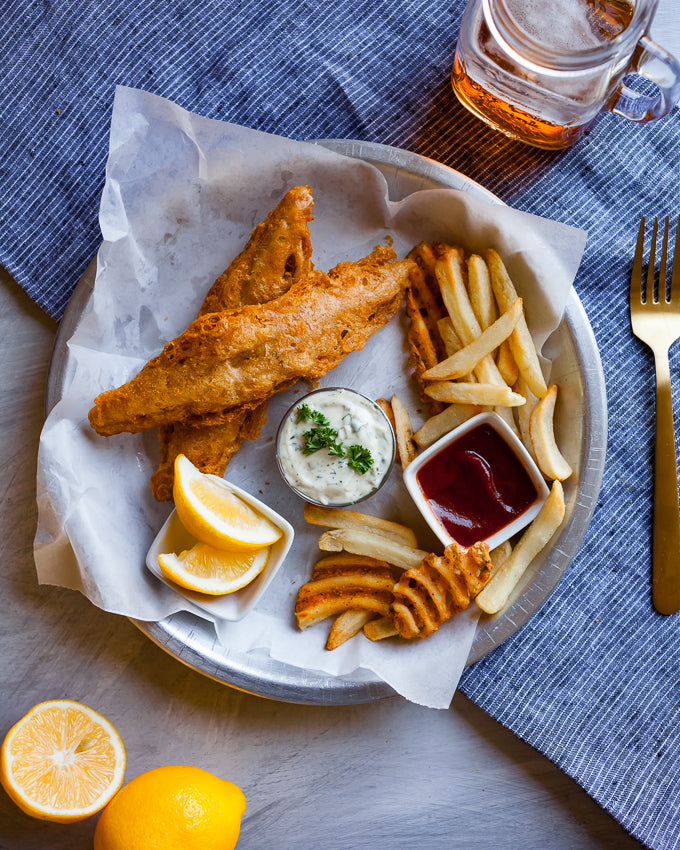 RECIPE: VEGAN FISH AND CHIPS