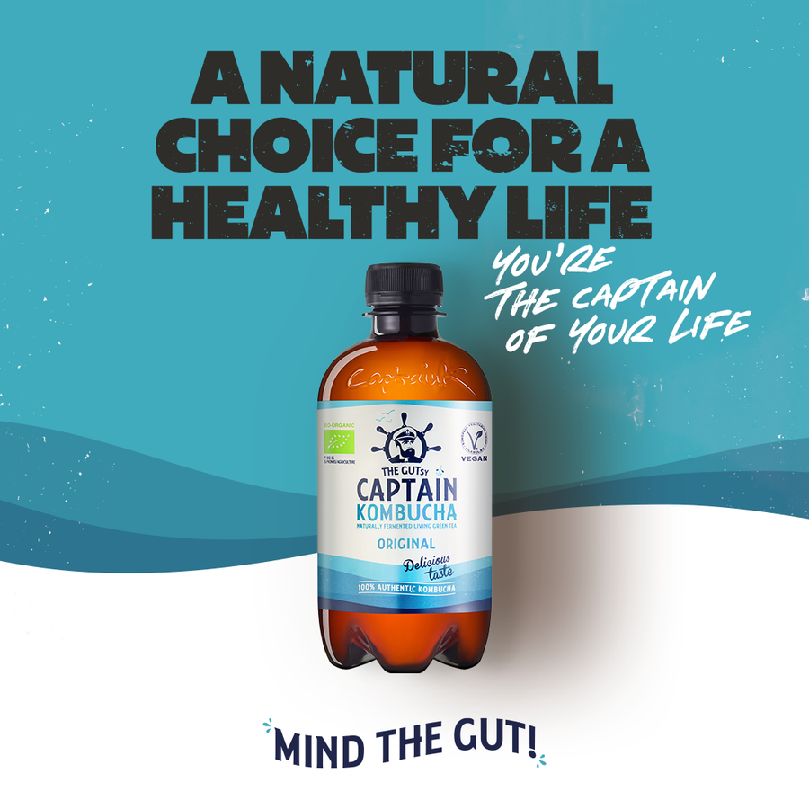 The GUTsy Captain Kombucha - Original (400ml)