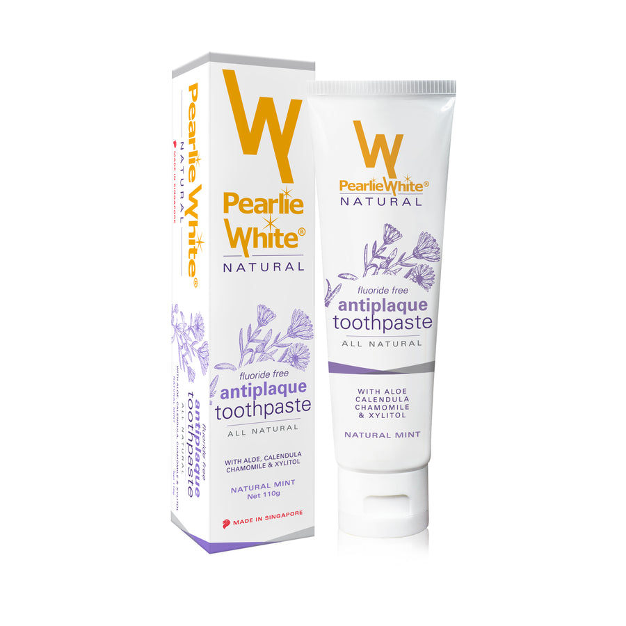 Pearlie White All Natural Antiplaque Toothpaste (110g)