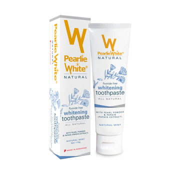 Pearlie White All Natural Whitening Toothpaste (110g)