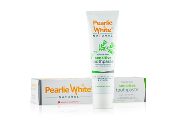 Pearlie White All Natural Sensitive Toothpaste (110g)