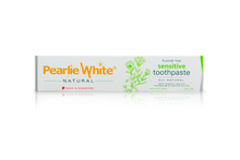 Load image into Gallery viewer, Pearlie White All Natural Sensitive Toothpaste (110g)