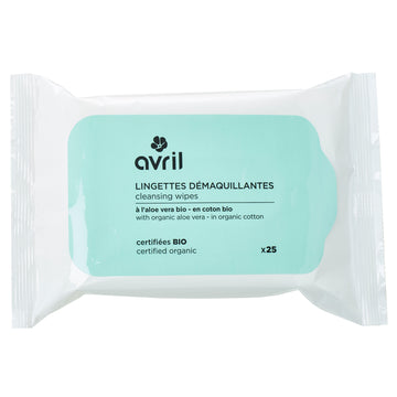 Avril Organic Cleansing Wipes 25pcs