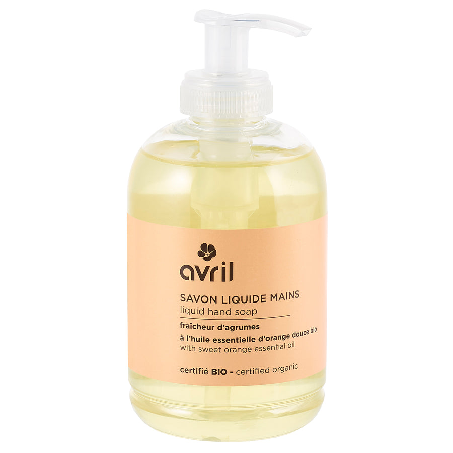 Avril Organic Citrus Liquid Hand Soap (300ml)