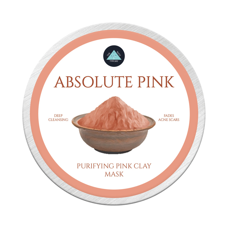 The Bath Theory Absolute Pink Face Mask