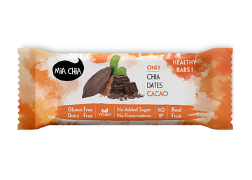 Mia Chia Chocolate Bar