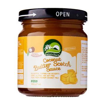 Nature's Charm Coconut Butter Scotch Sauce (200g)