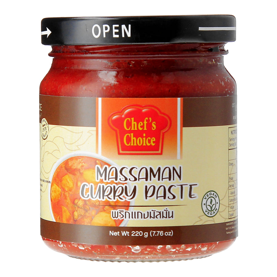 Chef's Choice Vegan Massaman Curry Paste (220G)