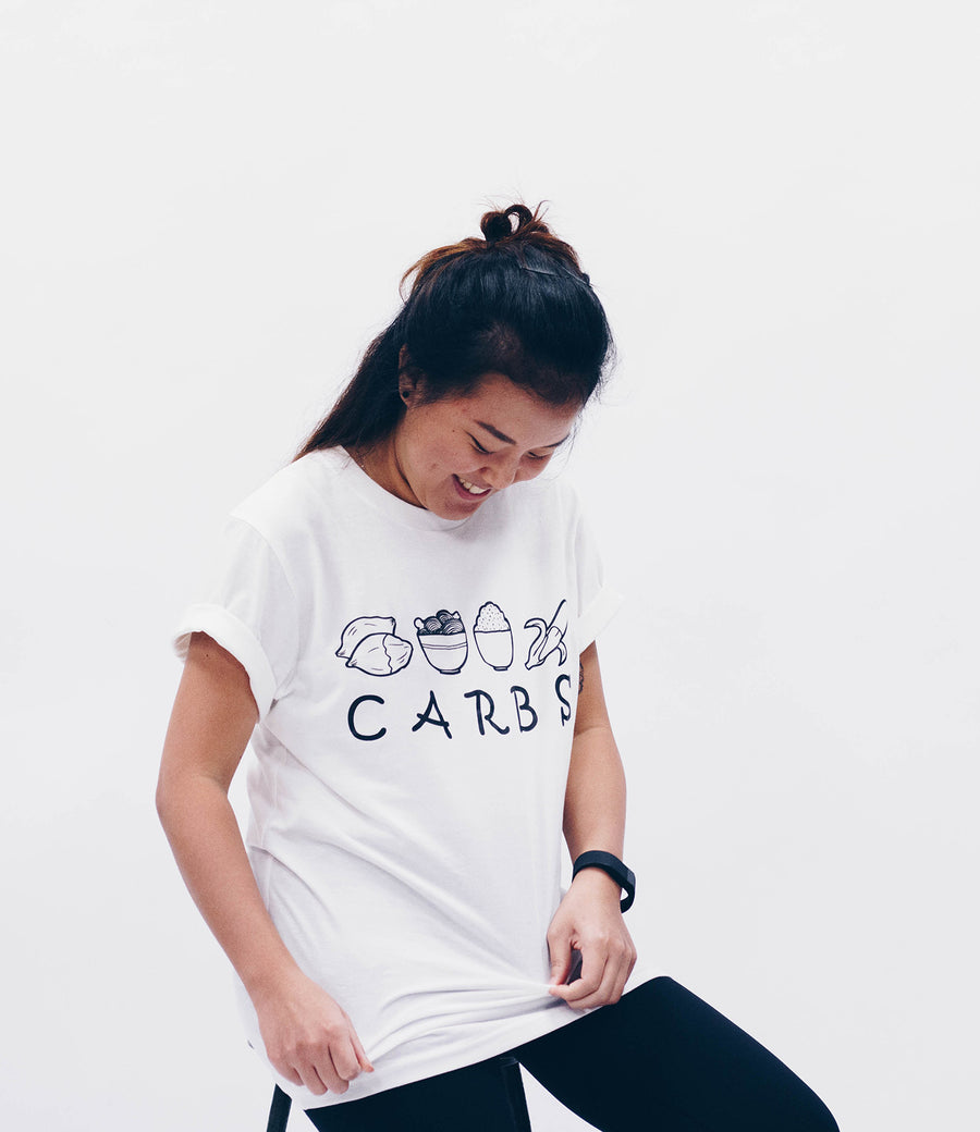 'Carbs' Organic Cotton T-Shirt