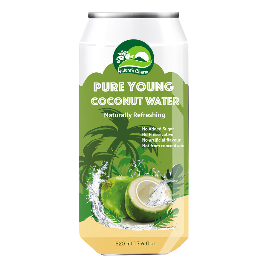 Nature's Charm Pure Young Coconut Water