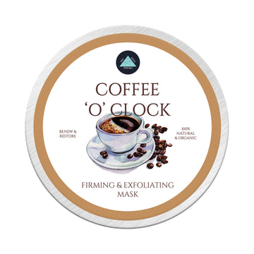 The Bath Theory Coffee O' Clock Face Mask