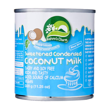 Nature's Charm Sweetened Condensed Coconut Milk (320g)