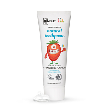 The Humble Co. All Natural Kids Toothpaste - Strawberry (75ml)