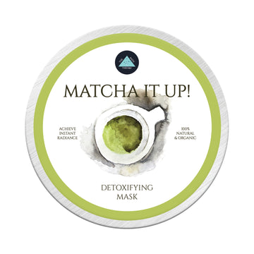 The Bath Theory Matcha It Up! Face Mask