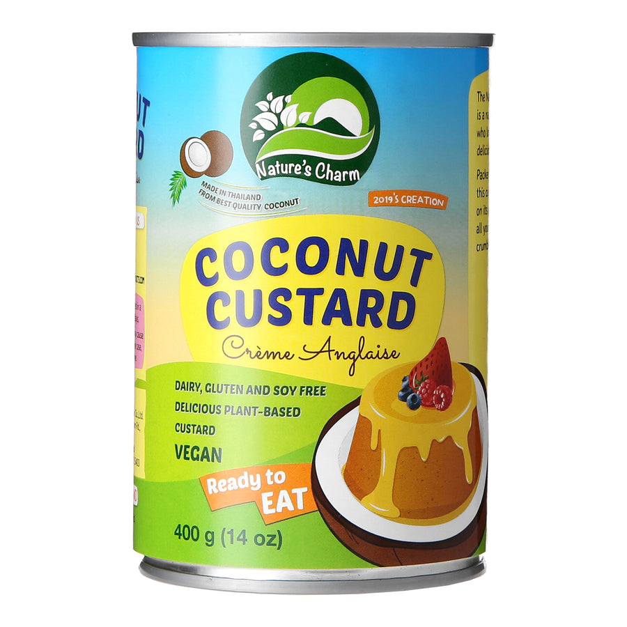 Nature's Charm Coconut Custard Creme Anglaise (400g)