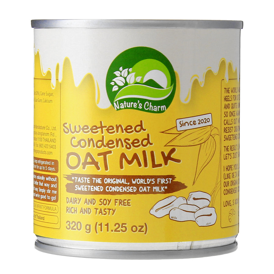 Nature's Charm Sweetened Condensed Oat Milk (320g)