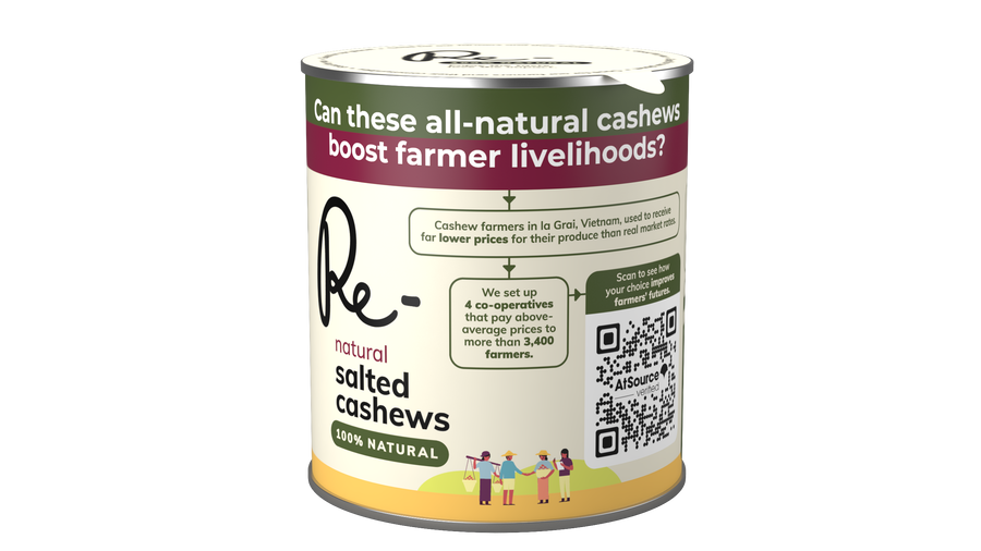 Re- Natural Salted Cashews (150g)