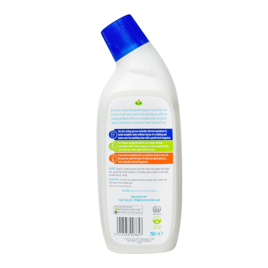 Ecover Toilet Cleaner - Sea Breeze & Sage (750ml)