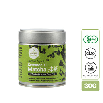 Nature's Superfoods Organic Ceremonial Matcha Powder (30g)