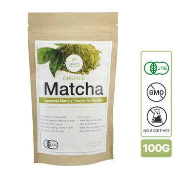 Nature's Superfoods Organic Culinary Matcha Powder (100g)