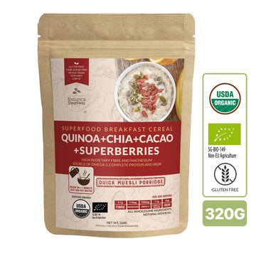 Nature's Superfoods Organic Superfoods Muesli Porridge (320g)