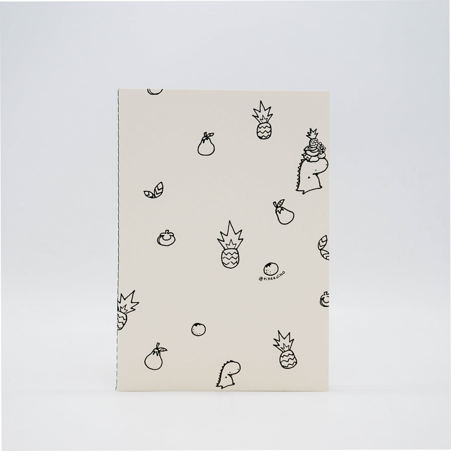 Pineapple Pattern Notebook