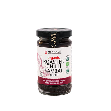 Mekhala Living Organic Roasted Chilli Sambal Paste (100g)