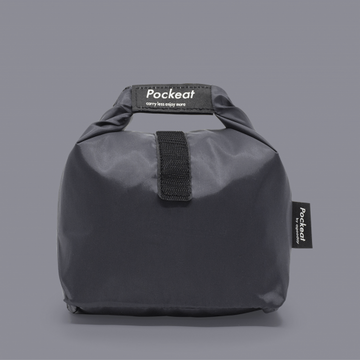 Pockeat Food Bag | Shutdown Black