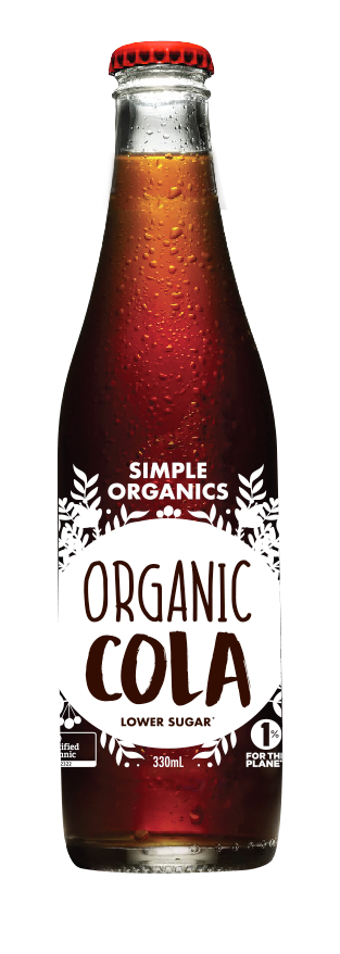 Simple Organics Soda - Cola (330ML)