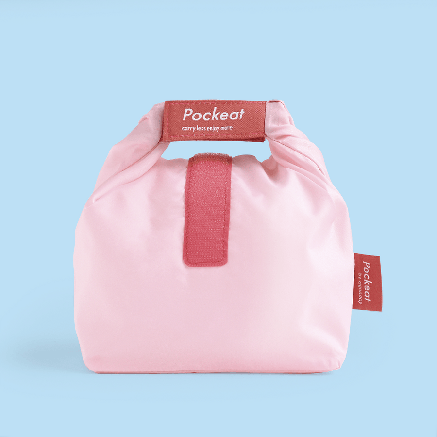 Pockeat Food Bag | Strawberry Pink