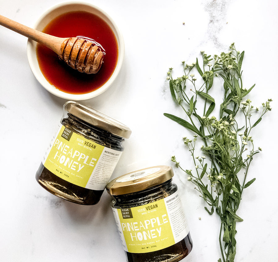 Vegan Dairy Nepal Pineapple Honey (230g)