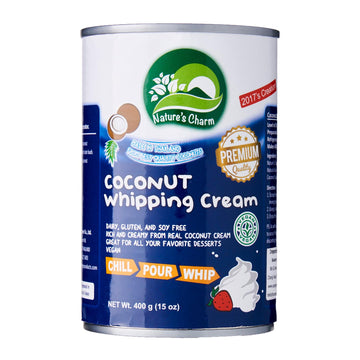 Nature's Charm Coconut Whipping Cream (400g)