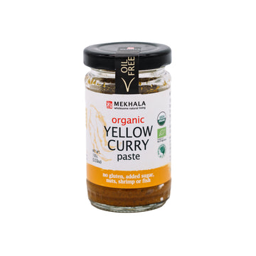 Mekhala Living Organic Thai Yellow Curry Paste (100g)